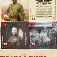 """Nuova Zelanda """"Per il Re e l'Impero"""": francobolli per i 100 anni dalla Prima Guerra Mondiale"""